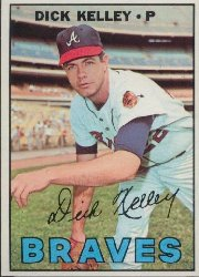 1967 Topps Baseball Cards      138     Dick Kelley
