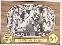 1967 Topps Baseball Cards      152     World Series Game 2-Jim Palmer