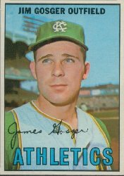 1967 Topps Baseball Cards      017      Jim Gosger