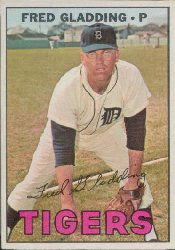 1967 Topps Baseball Cards      192     Fred Gladding