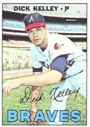 1967 Topps Baseball Cards      214     Dick Kelley