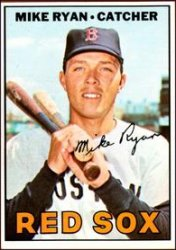 1967 Topps Baseball Cards      223     Mike Ryan