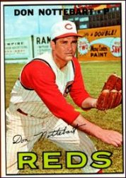 1967 Topps Baseball Cards      269     Don Nottebart