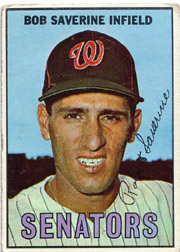 1967 Topps Baseball Cards      027      Bob Saverine