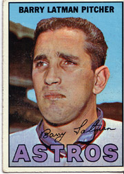 1967 Topps Baseball Cards      028      Barry Latman
