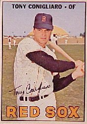 1967 Topps Baseball Cards      280     Tony Conigliaro