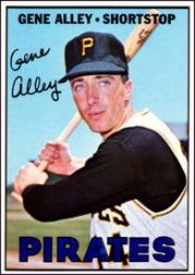1967 Topps Baseball Cards      283     Gene Alley