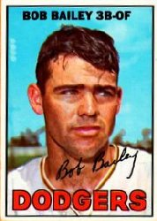 1967 Topps Baseball Cards      032      Bob Bailey