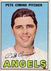 1967 Topps Baseball Cards      034      Pete Cimino
