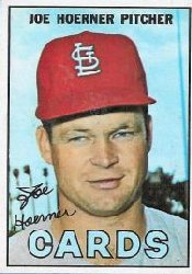 1967 Topps Baseball Cards      041      Joe Hoerner