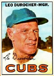 1967 Topps Baseball Cards      481     Leo Durocher MG