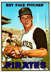 1967 Topps Baseball Cards      049      Roy Face