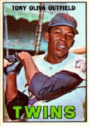1967 Topps Baseball Cards      050      Tony Oliva