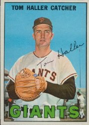 1967 Topps Baseball Cards      065      Tom Haller
