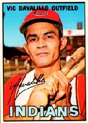 1967 Topps Baseball Cards      069      Vic Davalillo