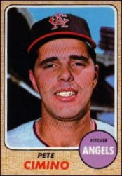 1968 Topps Baseball Cards      143     Pete Cimino