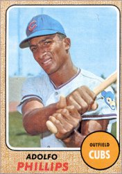 1968 Topps Baseball Cards      202     Adolfo Phillips