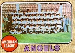 1968 Topps Baseball Cards      252     California Angels TC