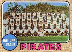 1968 Topps Baseball Cards      308     Pittsburgh Pirates TC