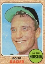 1968 Topps Baseball Cards      332     Doug Rader