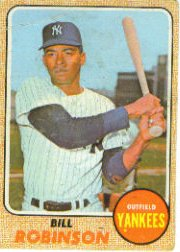1968 Topps Baseball Cards      337     Bill Robinson