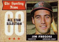 1968 Topps Baseball Cards      367     Jim Fregosi AS