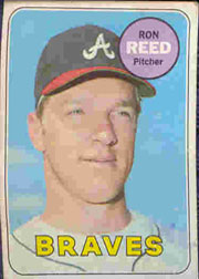 1969 Topps Baseball Cards      177     Ron Reed