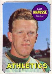 1969 Topps Baseball Cards      023      Lew Krausse