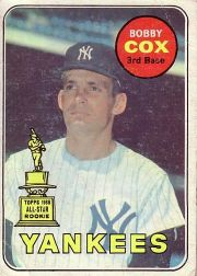 1969 Topps Baseball Cards      237     Bobby Cox RC