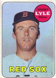 1969 Topps Baseball Cards      311     Sparky Lyle RC