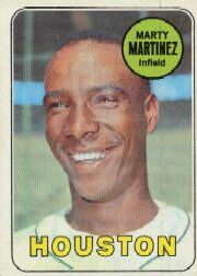 1969 Topps Baseball Cards      337     Marty Martinez RC