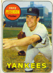 1969 Topps Baseball Cards      046      Fritz Peterson