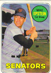 1969 Topps Baseball Cards      461A    Mike Epstein
