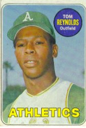 1969 Topps Baseball Cards      467     Tommie Reynolds