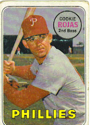 1969 Topps Baseball Cards      507     Cookie Rojas
