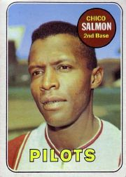 1969 Topps Baseball Cards      062      Chico Salmon