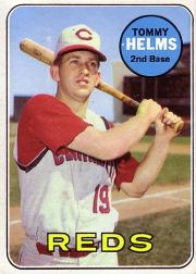 1969 Topps Baseball Cards      070      Tommy Helms