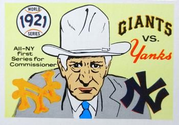 1970 Fleer World Series 018      1921 Giants/Yankees#{(Commissioner Landis)