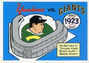 1970 Fleer World Series 020      1923 Yankees/Giants#{(Babe Ruth)