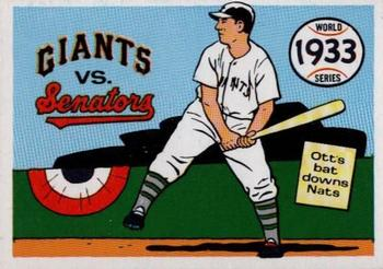1970 Fleer World Series 030      1933 Giants/Senators#{(Mel Ott)
