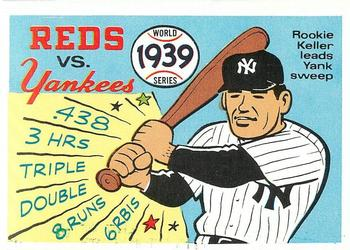 1970 Fleer World Series 036      1939 Yankees/Reds