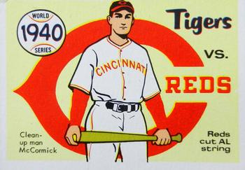 1970 Fleer World Series 037      1940 Reds/Tigers