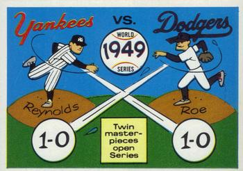 1970 Fleer World Series 046      1949 Yankees/Dodgers#{(Allie Reynolds#{and Preacher Roe