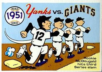 1970 Fleer World Series 048      1951 Yankees/Giants