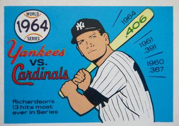 1970 Fleer World Series 061      1964 Cardinals/Yankees#{(Bobby Richardson)