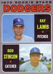 1970 Topps Baseball Cards      131     Rookie Stars-Ray Lamb RC-Bob Stinson RC