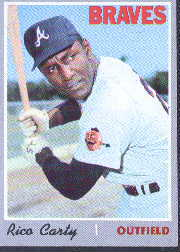 1970 Topps Baseball Cards      145     Rico Carty