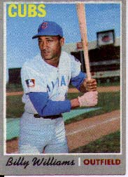 1970 Topps Baseball Cards      170     Billy Williams