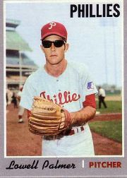 1970 Topps Baseball Cards      252     Lowell Palmer RC