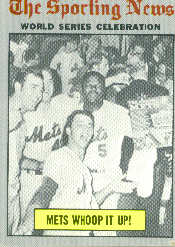 1970 Topps Baseball Cards      310     World Series Summary-Mets Whoop it Up